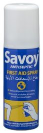 Savoy Antiseptic First Aid Spray