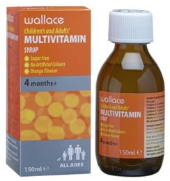 Wallace multivitamin syrup
